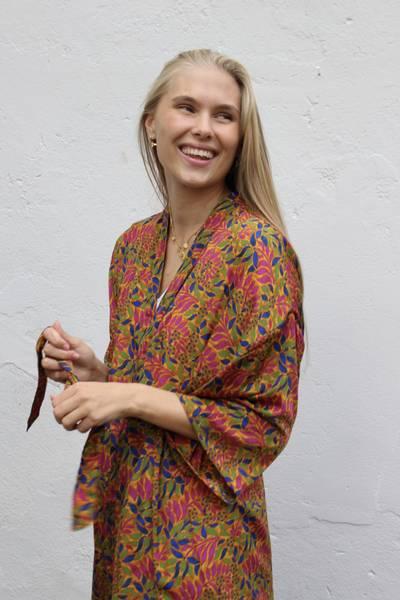Bilde av Vintage silke kimono - Aud