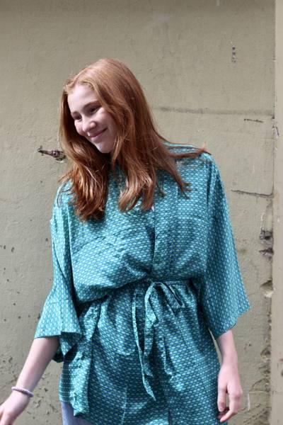 Bilde av Vintage silke kimono - Torill