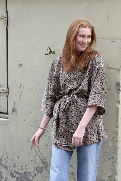 Bilde av Vintage silke kimono - Sonja
