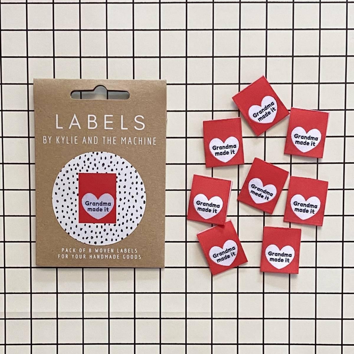 Labels - Grandma made it