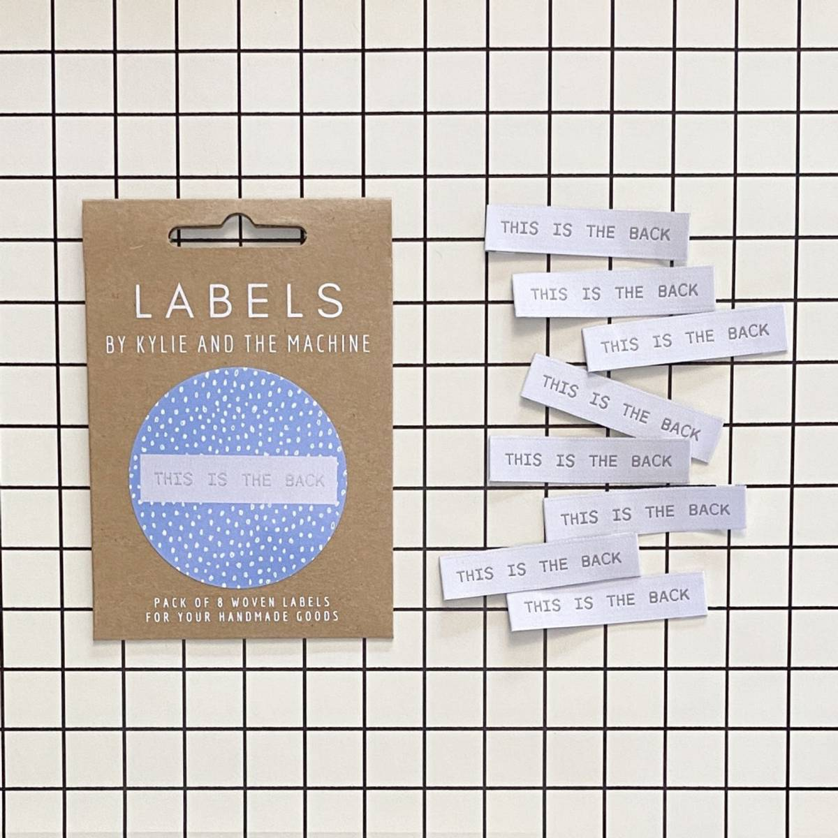 Labels - This is the back