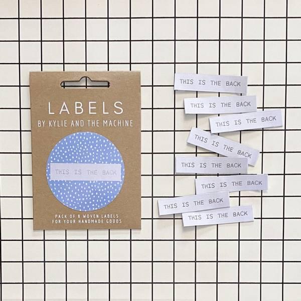 Bilde av Labels - This is the back