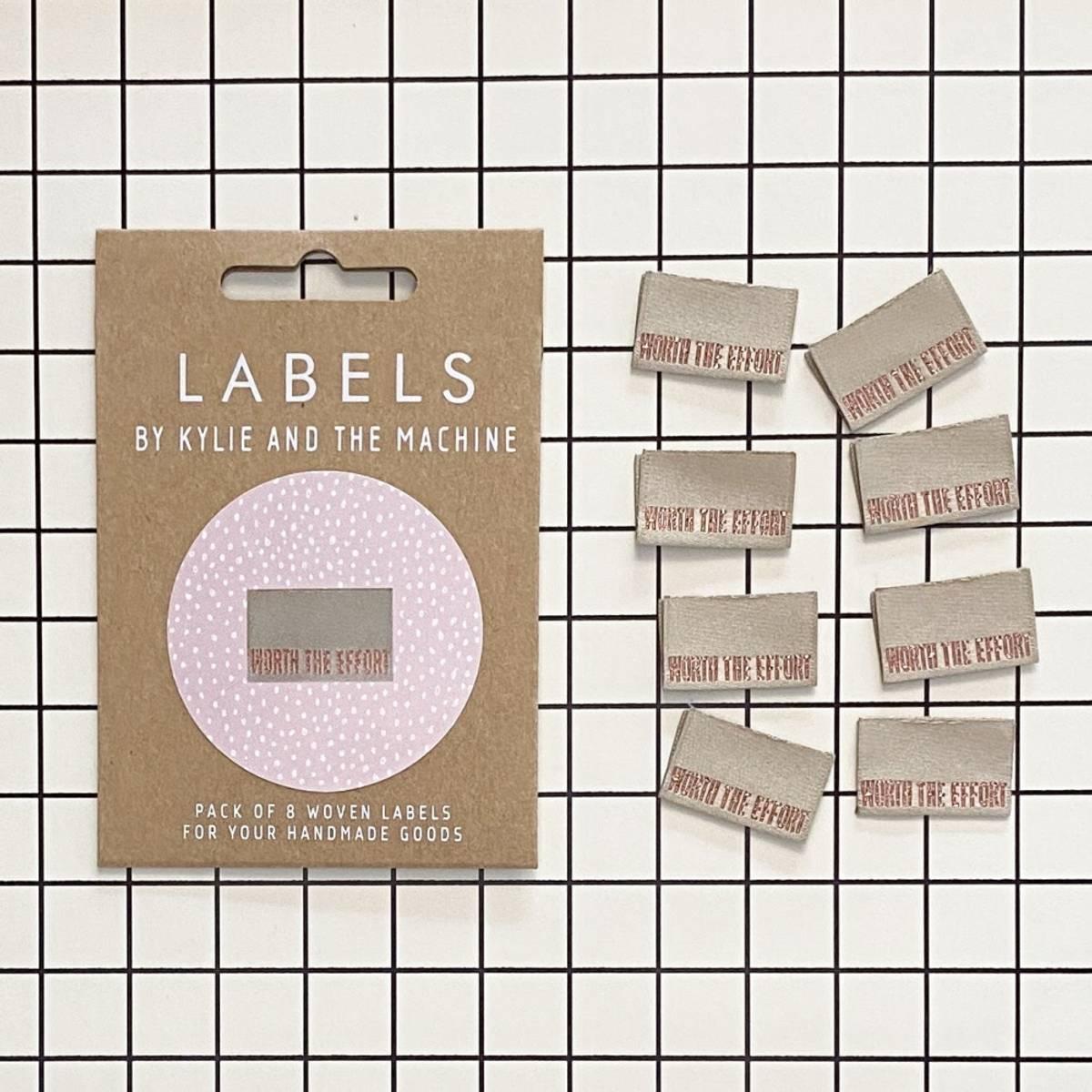 Labels - Worth the effort