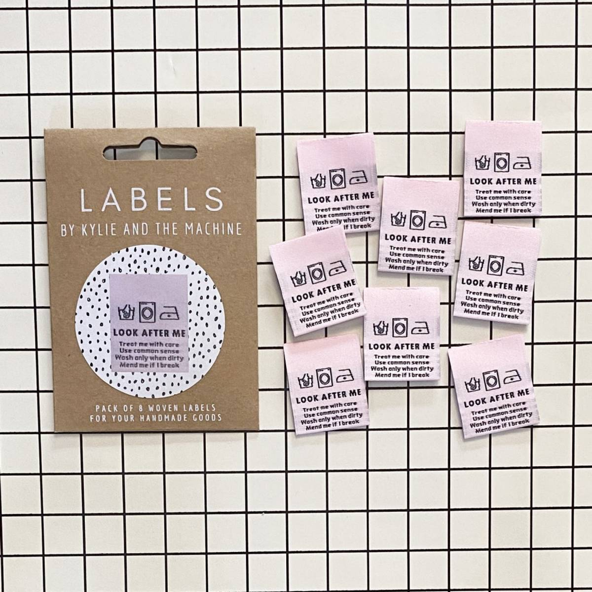 Labels - Look after me
