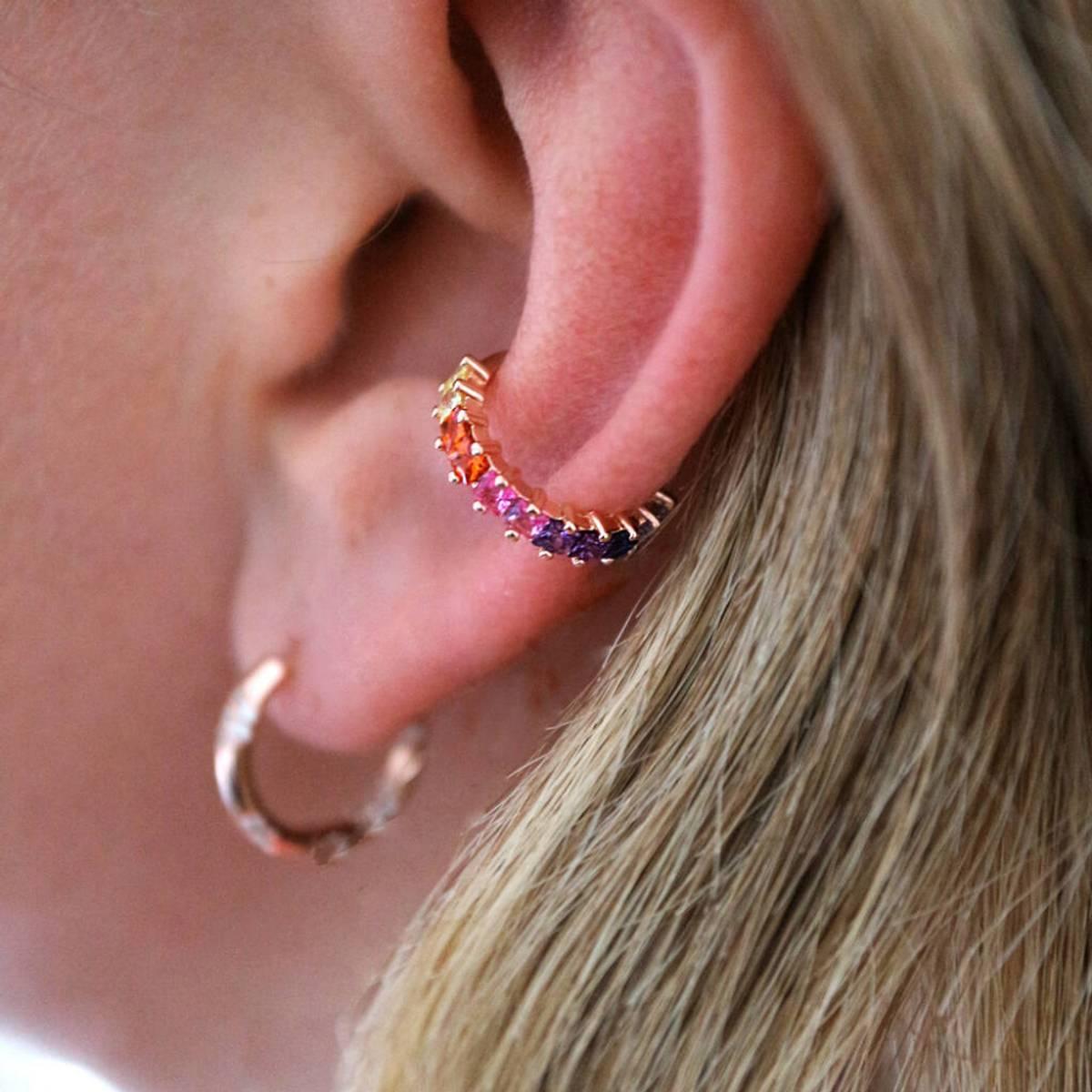 Ear Cuff - hvit