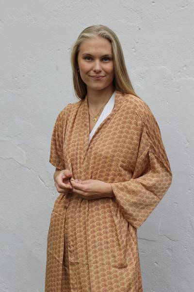 Bilde av Vintage silke kimono - Karina