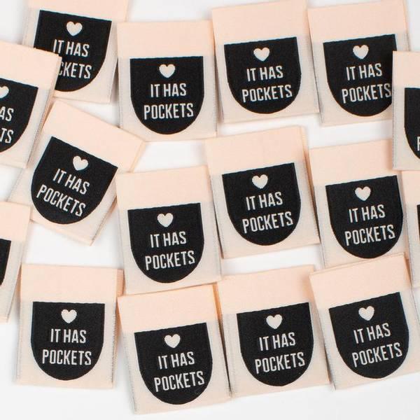 Bilde av Labels - It has pockets