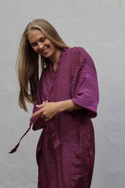 Bilde av Vintage silke kimono - Silje