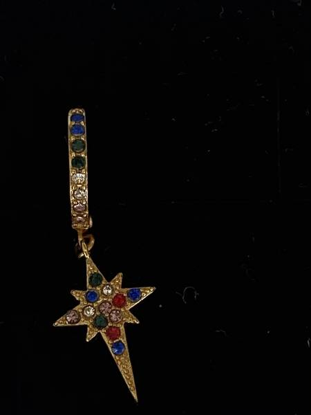 Bilde av Ørering med stjerne og bling
