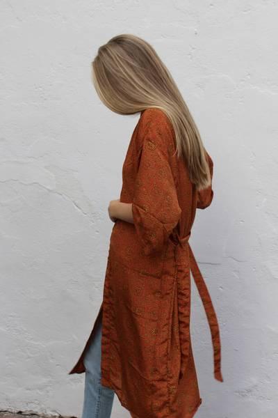 Bilde av Vintage silke kimono - Margot