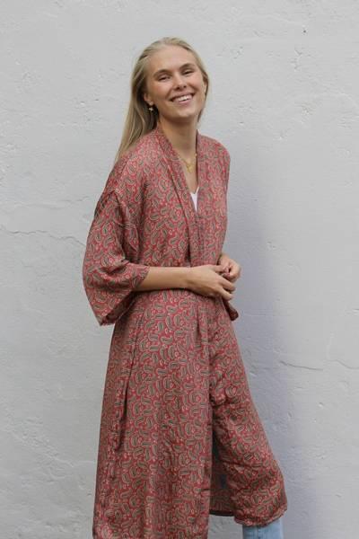 Bilde av Vintage silke kimono - Synne