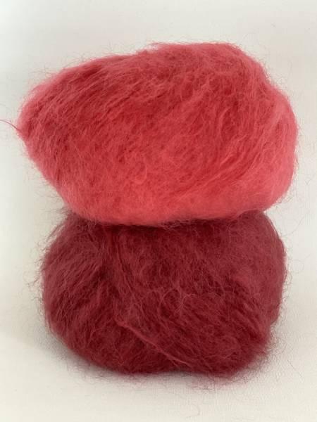 Bilde av Fluffy Mohair - Coral Red