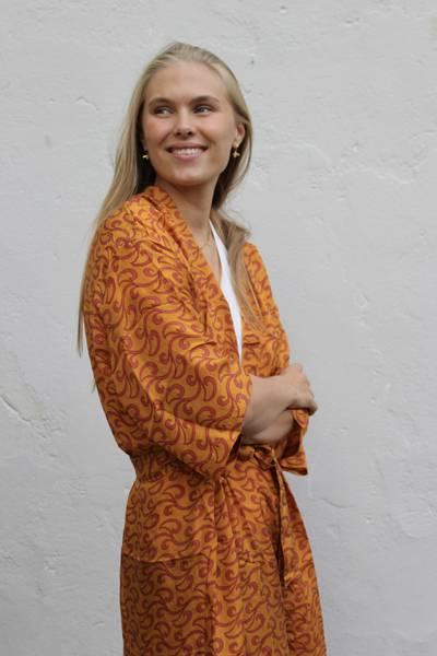 Bilde av Vintage silke kimono - Maren