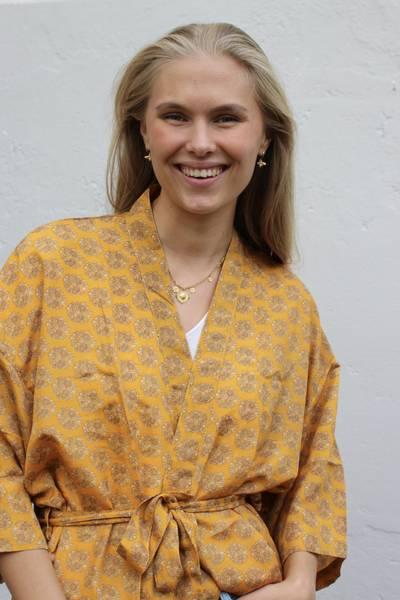 Bilde av Vintage silke kimono - Birte