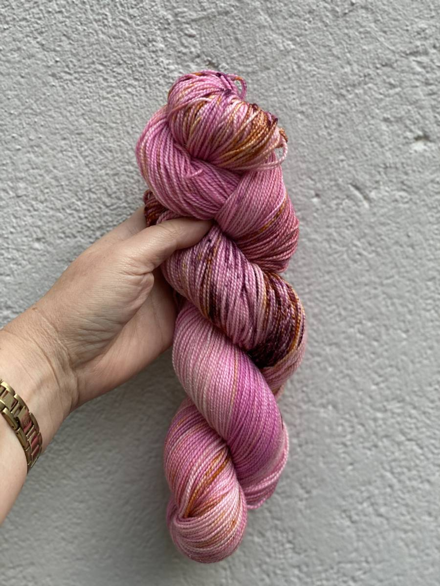 Merino med gull - Pink