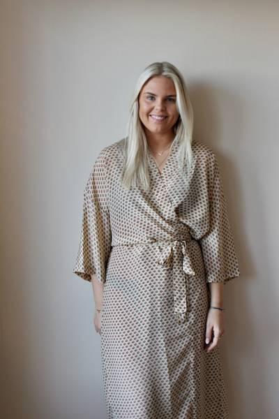 Bilde av Vintage silke kimono - Adele