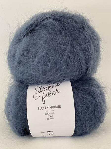 Bilde av Fluffy Mohair - Steal Blue