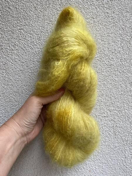 Bilde av Fluffy Mohair - Fresh yellow