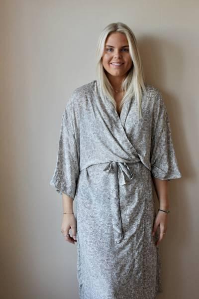 Bilde av Vintage silke kimono - Ida