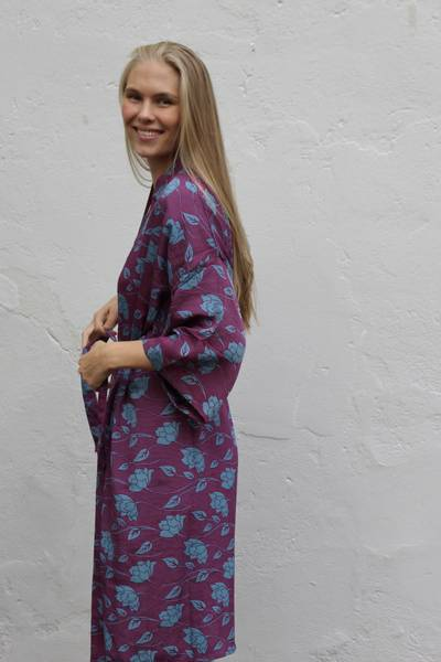 Bilde av Vintage silke kimono - Diana