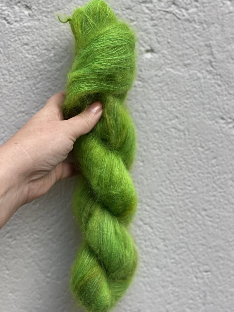 Silk Mohair - Green