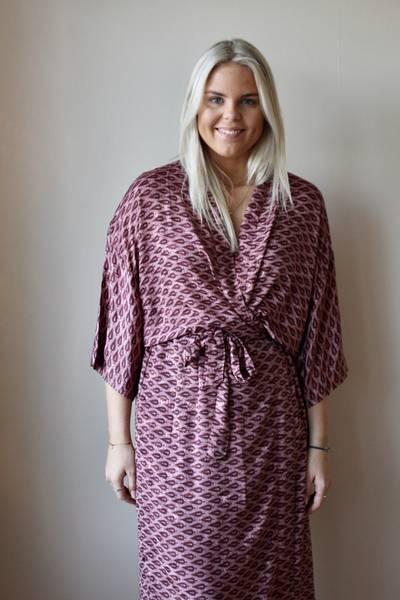 Bilde av Vintage silke kimono - Hege