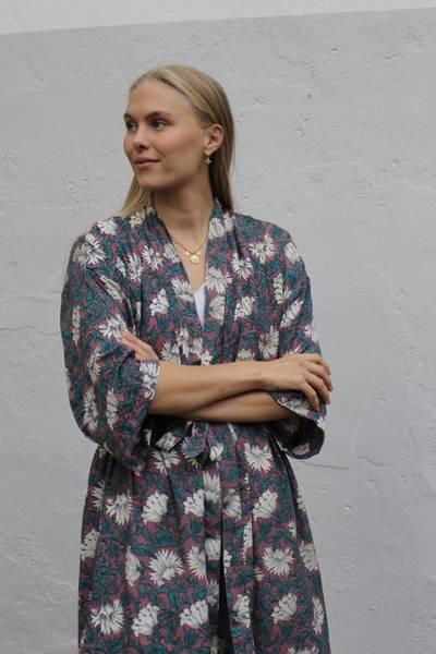 Bilde av Vintage silke kimono - Lilly