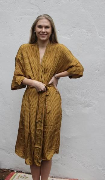 Bilde av Vintage silke kimono - Mina