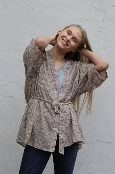 Bilde av Vintage silke kimono - Ingrid