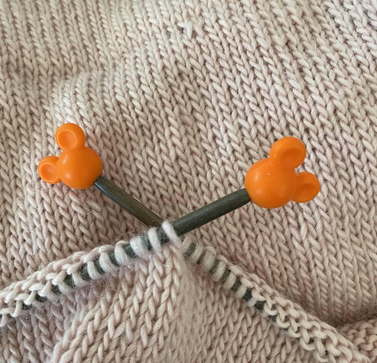 Stoppere - Orange Mikke Mus