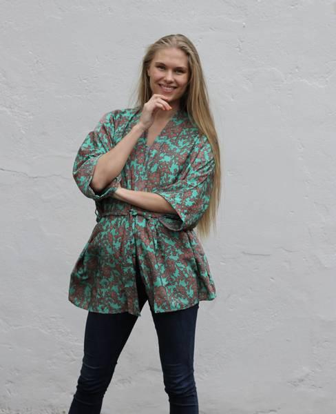 Bilde av Vintage silke kimono - Maiken