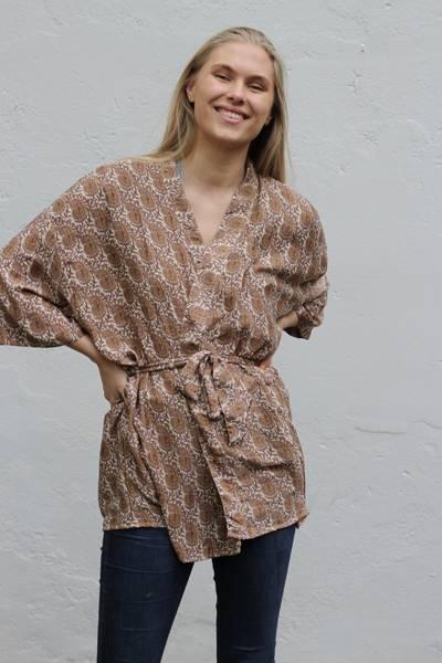 Bilde av Vintage silke kimono - May