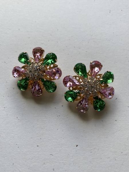 Bilde av Rosa og grønne knapper - 26