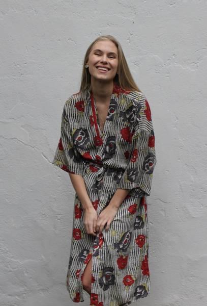Bilde av Vintage silke kimono -