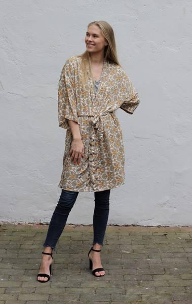 Bilde av Vintage silke kimono - Maya