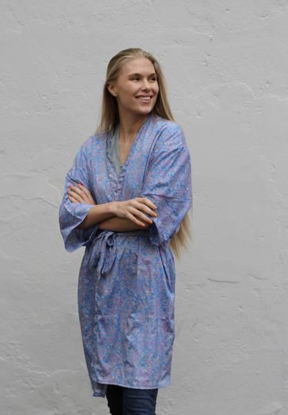 Bilde av Vintage silke kimono - Olivia