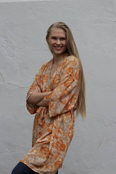 Bilde av Vintage silke kimono - Stella