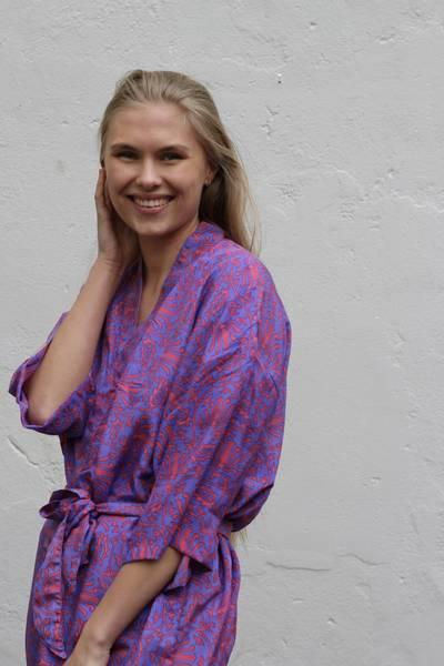 Bilde av Vintage silke kimono - Elly