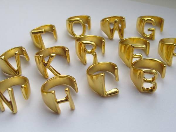Bilde av Ringer med bokstav