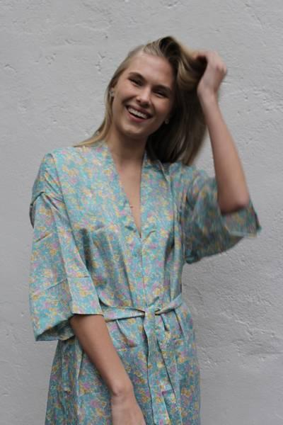 Bilde av Vintage silke kimono - Vera