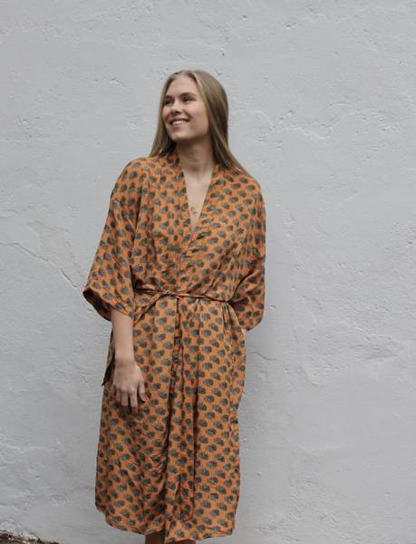 Bilde av Vintage silke kimono - Linda