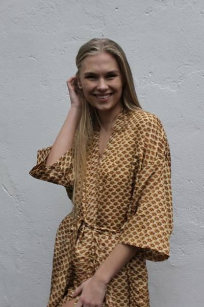 Bilde av Vintage silke kimono - Erica