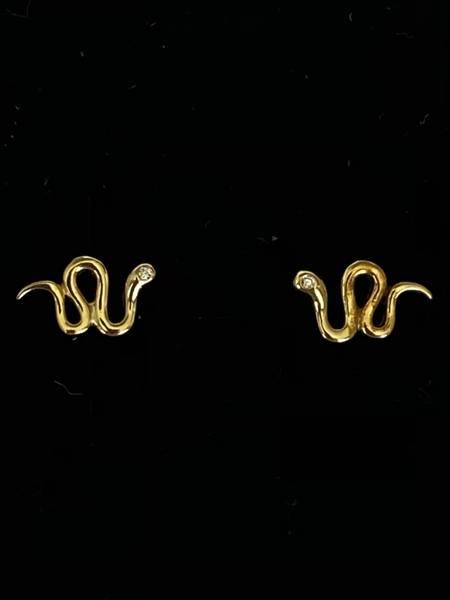 Bilde av Øredobber med små slanger