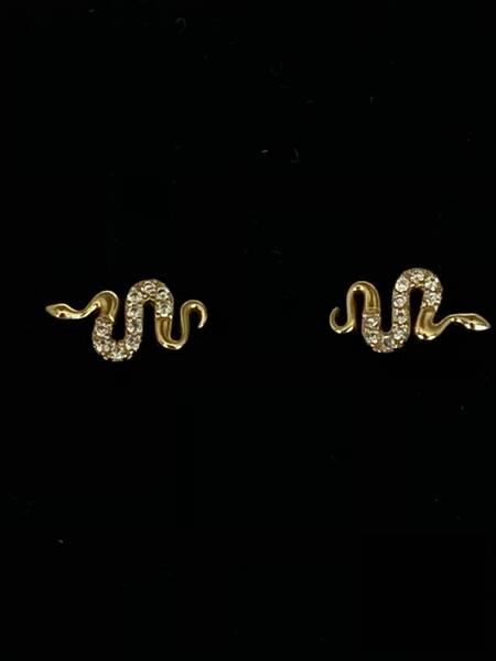 Bilde av Øredobber med små slanger og