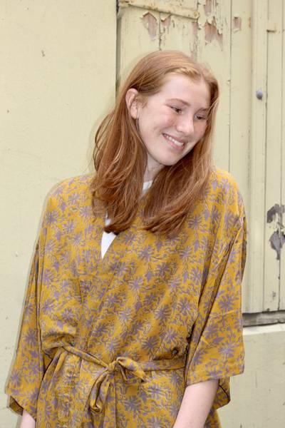 Bilde av Vintage silke kimono - Miriam