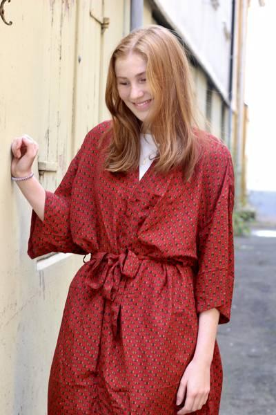 Bilde av Vintage silke kimono - Naja