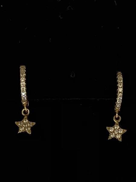Bilde av Små øreringer med stjerner