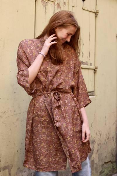 Bilde av Vintage silke kimono - Monika