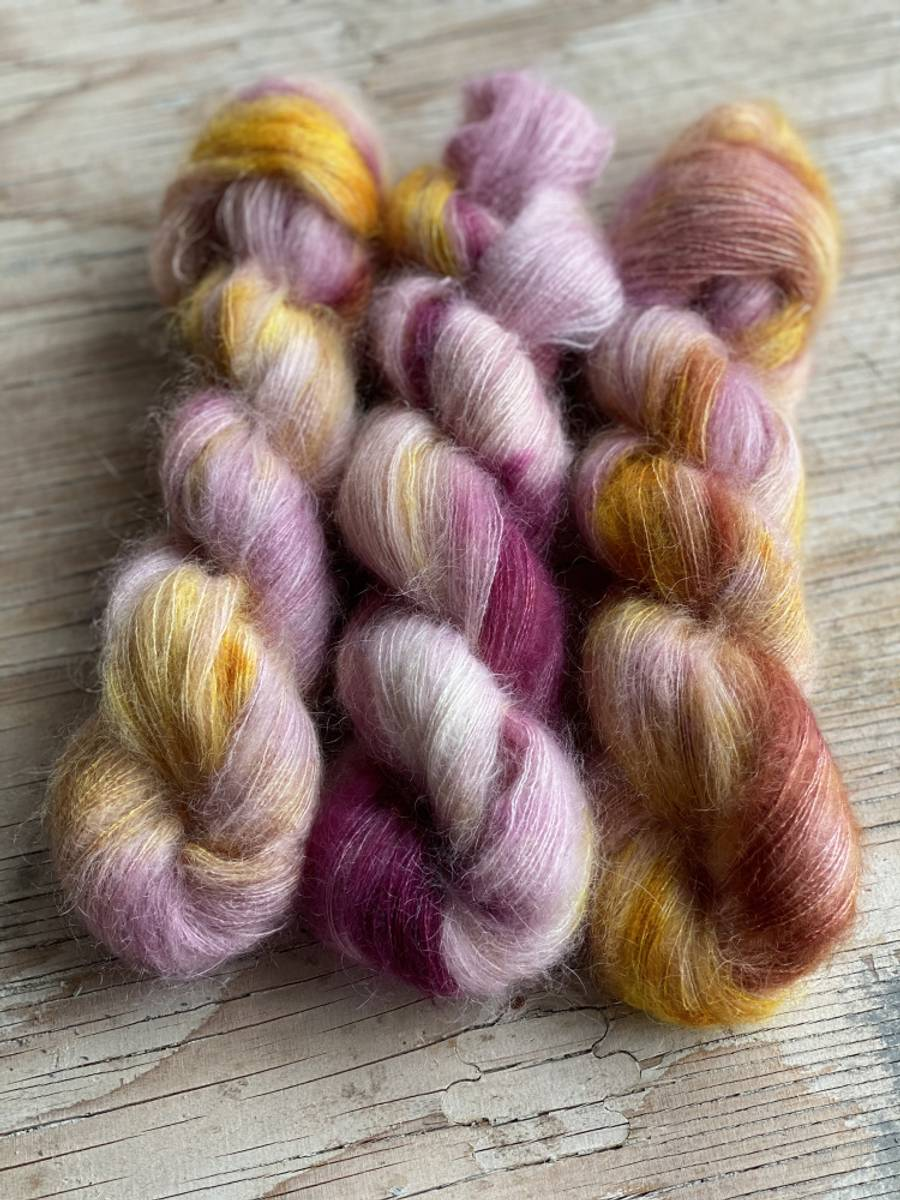 Silk Mohair - Plum