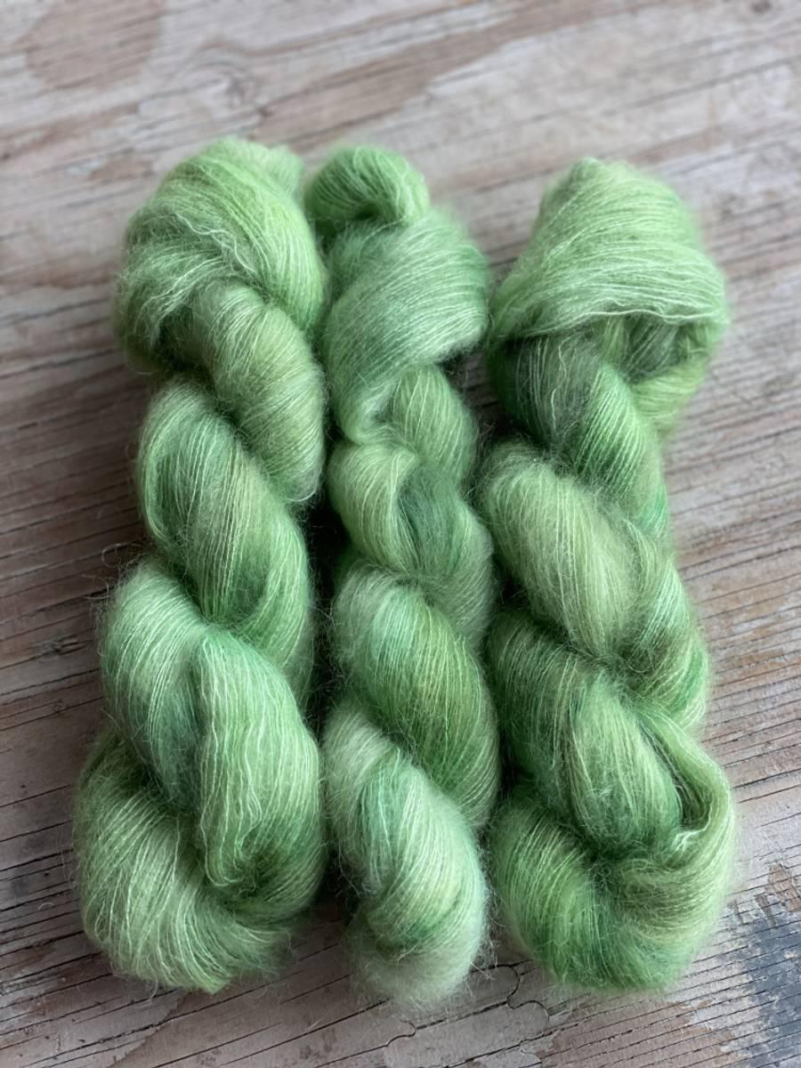 Silk Mohair - Green Tea